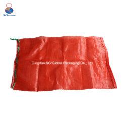 Des SGS-Cer FDA China-Großhandelsgut-50lb 50kg Ineinander greifen-Nettobeutel-Frucht Linon-Kunststoffgehäuse-Zwiebelen-der Kartoffel-pp.
