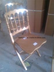 Napoleón silla plegable de madera
