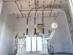 El Casquillo compuesto de cable de alimentación de 110kv Terminal exterior