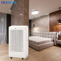 شقة منزل من الصوبات الزجاجية 180 باينت تستخدم بلاستيك محمول عالي الكفاءة تجفيف آلة إزالة الرطوبة الصناعية التجارية مع CE