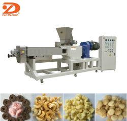 Ce de la Chine la vente de chocolat chaud rempli d'aliments de collation soufflé de remplissage de base Les croustilles de maïs Double-Screw Machine de l'extrudeuse
