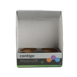 Caja de cartón plegable Embalaje Personalizado regalo de cartón ondulado reciclado