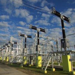 Fonte de Alimentação Elétrica galvanizado Subestação da Linha de Transmissão de Estrutura de aço