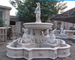 Wasser-Garten Fountain für Garten Stone Sculpture (SY-F102)
