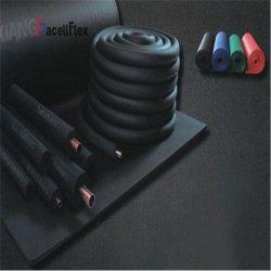 Aislamiento térmico de espuma de goma Tubos de cobre de tubo de plástico de Hor el rendimiento de aplicaciones de HVAC/R de acero de alta calidad fina