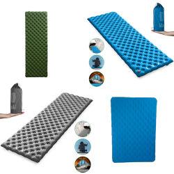초박형 수면 매트 캠핑 용 팽창식 수면 패드
