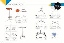 Heißer Verkaufs-zerteilen Stahlmetallchrom-Stuhl-Unterseiten-Möbel Zubehör-Schwenker chromierte Unterseite für Büro-Stuhl