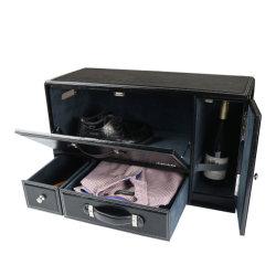 マルチ機能贅沢PU革車の収納箱
