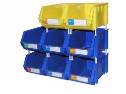Les enfants des bacs de rangement empilables, empilable de bacs de recyclage (PK004)
