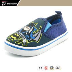 Boy superior de lona com Cool Imprimir Skate Sapatas PVC 9284