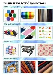 Skysol® tintes disolventes/solvente Fabricante de tinte rojo/solvente 218/solvente naranja/negro solvente 27/colorantes solventes para fumar /tintes solventes para plástico