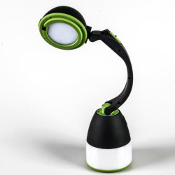 ABS Yichen LED modernos portátil Lámpara de mesa de luz y reservar