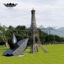 Torre Eiffel gigante modello metallo decorazione artigianato Grande Torre Modello in vendita