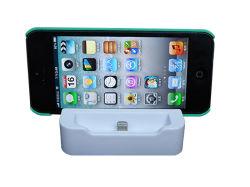 Base titular de la base del cargador adaptador para el iPhone 5