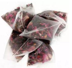 Embalagem Teabag Herbal Rose Flower chá preto com rótulo privado