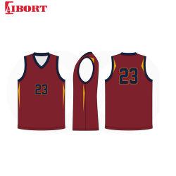 Criar Grupo Aibort aquecer todos Kid Basquetebol Jersey definida para o adolescente (L-BK003)