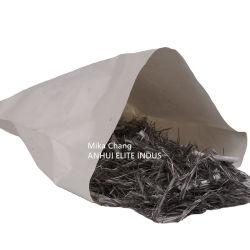 구조상 섬유 폴리프로필렌 또는 강철 섬유를 대체하기 위하여 이용되는 폴리에틸렌 합성 모듬 명령 섬유