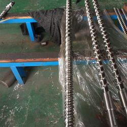 Vis d'injection bimétalliques baril pour la machine de moulage