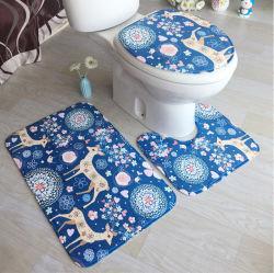 Душ в ванной комнате пены памяти ванны коврик с пробуксовки колес