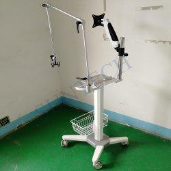 Алюминиевый корпус для мобильных ПК динамического медицинское оборудование аппарат ИВЛ передвижной стойки тележки с помощью кронштейна