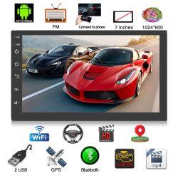 Rádio Android Universal 9.0 2 DIN de 7 Polegadas do Sistema Car Player navegação por GPS
