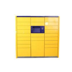 Densenは多機能の学校のロッカーの棚の情報処理機能をもった明白なキャビネットのステンレス鋼機構の金属ボックスをカスタマイズした