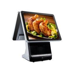 Banheira de venda a retalho de tela de toque de boa qualidade Caixa Registradora POS com software de impressora do Windows