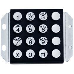 Профессиональные Vandalproof клавиатуры из металла для банка сервисный телефон Kp1