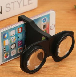 Occhiali portatili Mini 3D Virtual Reality VR pieghevoli