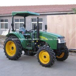 certificat CE célèbre marque Enfly DQ404 40HP 4WD Petite Roue tracteur de jardin pour la vente