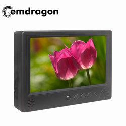 9 pouces TFT LCD appui-tête de la publicité de taxi de l'écran TV LCD HD de signalisation numérique Affichage publicitaire moniteur de vidéosurveillance avec entrée BNC la signalisation numérique LCD