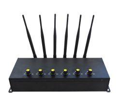 試験 / 会議室では、高出力 4G を使用します ( 4G LTE + 4G WiMAX ) 3G WiFi 携帯電話 6 バンド Jammer
