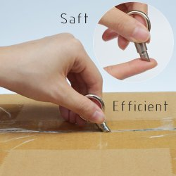 Sharp capsule micro en acier de clés de couteau Cutter Unboxing artefact Outil de découpe de pilule autocollant Remover Tinying Mini outil portable