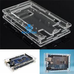 De slimme Transparante AcrylDoos Shell van de Elektronika Mega2560 Compatibel voor R3 Geval Arduino Mega 2560