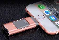 Logotipo personalizado OTG de almacenamiento externo USB Flash Drive para iPhone Android PC