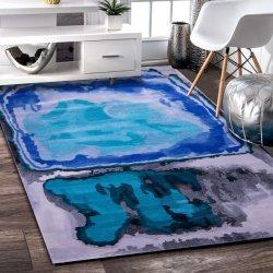 새로운 디자인 실크 카펫 대나무 카펫 럭셔리 깔개 현대적인 바닥 가정용 양탄자