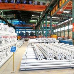 Staaf van de Draad van de Top van het Aluminium van de Staaf van de Staven van de draad de Dubbele Eind Ingepaste