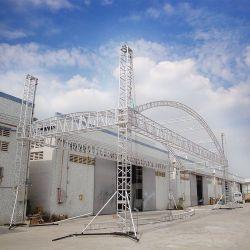 جملون عرض نظام السقف المنحني في قوس خارجي لمناسبة الزفاف معدات مرحلة المعرض