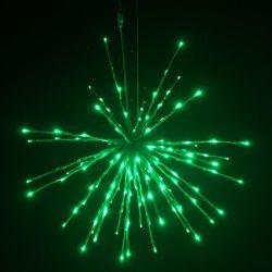 LED das luzes à prova de pendurar na parede do Natal Santa Claus titular de fio de cobre de luz LED luzes de Natal operados por bateria