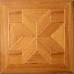 [450مّ] مربّعة قطعة داخليّ غرفة نوم لون طبيعيّ ذهبيّة يهندس خشبيّة [تك] أرضية