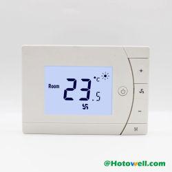 De Programmeerbare Thermostaat van de Rol van de ventilator voor de Opgezette Installatie van de Oppervlakte Muur