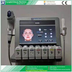 セリウムは20、000不足分5D Hifu Vを首の上昇のための最大療法の美容院減量を細くする機械およびボディ超承認した