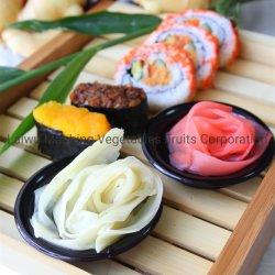 Le japonais marinés Sweet Rose blanc râpé Mini Sushi Gingembre