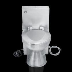 Корпус из нержавеющей стали автоматической очистки промышленных общественного туалета Туалет в коммерческих целях
