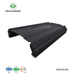L'anodisation de couleur noire amplificateur de voiture dissipateur de chaleur en aluminium