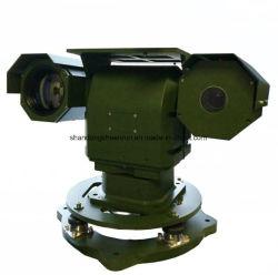 Vehículo militar en el vídeo Dual PTZ día y de la cámara térmica de infrarrojos