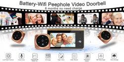 Overal Camera van de Deurbel van WiFi van het Huis van het Horloge en van de Controle de Slimme met Vrije APP