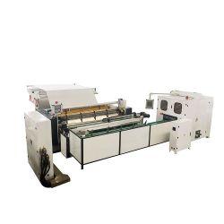 Полностью автоматическая маленький туалет ткани рулона бумаги перемотку назад бумагоделательной машины производственной линии для продажи цена