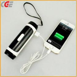 Lampe de poche LED avec chargeur mobile, Mobile d'alimentation LED 4400mAh lanterne, Banque d'alimentation