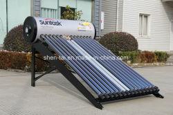 Type de tube sous vide et le type de connexion chauffe-eau solaire Direct-Plug conduit de chaleur